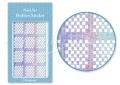 Körömdíszítés sablon – köröm stencil JV202D Diamond