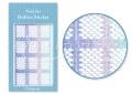 Körömdíszítés sablon – köröm stencil JV203D Diamond