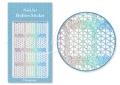 Körömdíszítés sablon – köröm stencil JV204D Diamond
