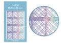 Körömdíszítés sablon – köröm stencil JV205D Diamond