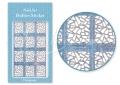 Körömdíszítés sablon – köröm stencil JV206D Diamond