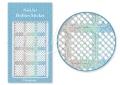 Körömdíszítés sablon – köröm stencil JV207D Diamond