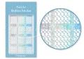 Körömdíszítés sablon – köröm stencil JV209D Diamond