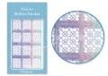 Körömdíszítés sablon – köröm stencil JV210D Diamond