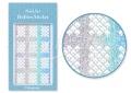 Körömdíszítés sablon – köröm stencil JV211D Diamond
