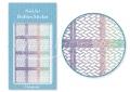 Körömdíszítés sablon – köröm stencil JV212D Diamond