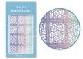 Körömdíszítés sablon – köröm stencil JV214D Diamond