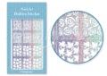 Körömdíszítés sablon – köröm stencil JV215D Diamond
