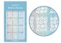 Körömdíszítés sablon – köröm stencil JV216D Diamond