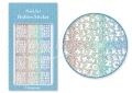 Körömdíszítés sablon – köröm stencil JV217D Diamond