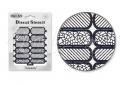 Körömdíszítés sablon – köröm stencil NS24B