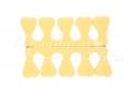 Lábujj szeparátor puha habszivacs    sárga