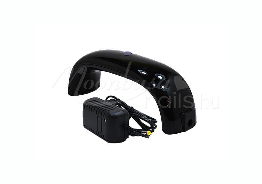 Mini LED lámpa 9W  Fekete