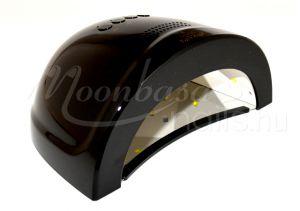 Fekete LED nail lámpa 24/48W