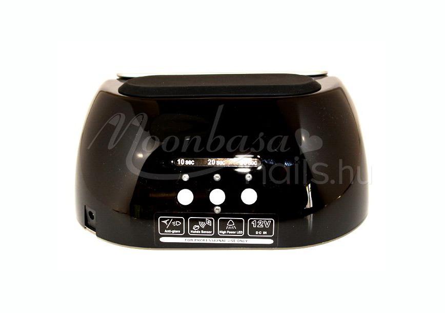 LED nail lámpa 48W  Fekete