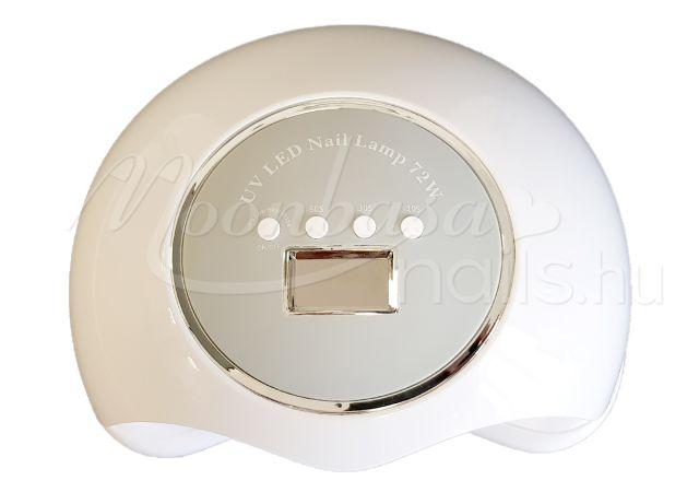 LED nail lámpa 72W BQ-72 Fehér