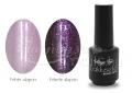 világos rózsaszín Magic TOP géllakk (gél lakk) #454