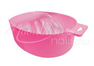 Rózsaszín Manikűr áztatótál