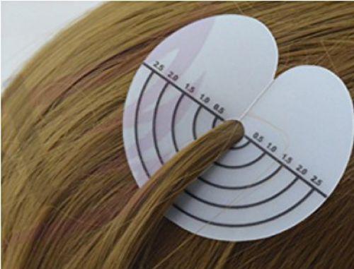 Mérővel ellátott hajhosszabbító hőragasztó 20db/csomag