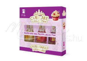 Cupcake Moyra Kids körömlakk szett