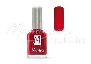 Piros Moyra körömlakk 12ml #019