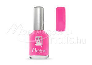 Sötét neon pink Moyra körömlakk 12ml #037