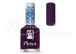Purple Nyomdalakk - Moyra 12ml SP 04