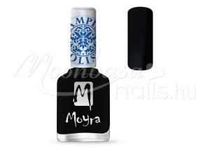 Black Nyomdalakk - Moyra 12ml SP 06