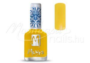 Yellow Nyomdalakk - Moyra 12ml SP 12
