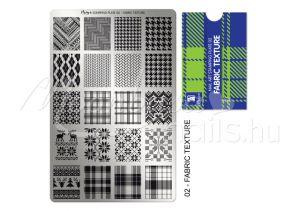 Fabric texture Nyomdalemez - Moyra  #02