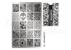 Ornaments Nyomdalemez - Moyra  #03