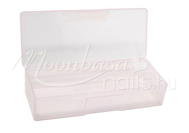 Műanyag tároló doboz  #023-C Átlátszó