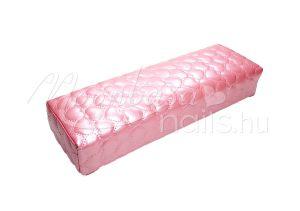 Rózsaszín szívecskés Műbőr könyöktámasz