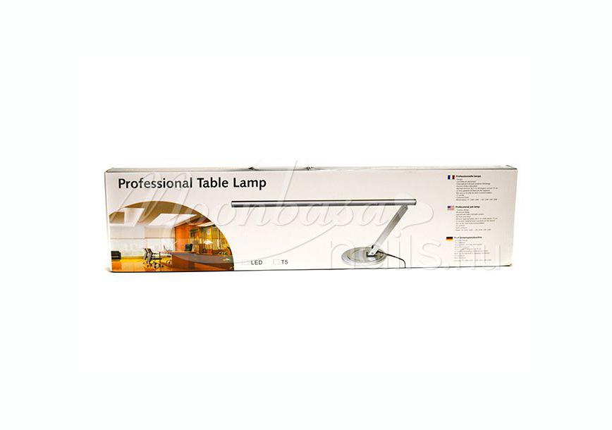 Műkörmös asztali LED lámpa 12W  Ezüst
