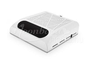 Fehér Műkörmös porelszívó kéztámasz 80W Cserélhető porszűrő filterrel BQ-858-8