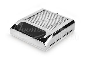 Műkörmös porelszívó kéztámasz 80W Cserélhető porszűrő filterrel BQ-858-8 Silver