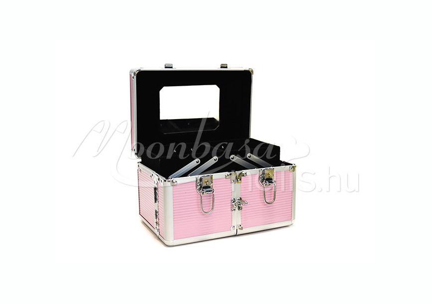 Műkörmös táska - kinyitható oldal rész  5R Rózsaszín