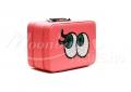 Szem - Világos rózsaszín Műkörmös táska, műbőr   műkörmös alapanyagok, kellékek szállításához
