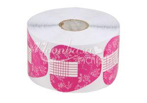 Rózsaszín Műköröm sablon 500 db #008