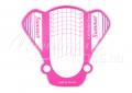 Műköröm sablon 50 db  Summer pink