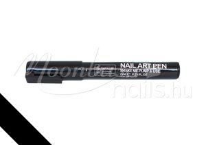 Nail art pen - Körömdíszítő toll 7ml #02 Fekete