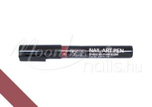 Nail art pen - Körömdíszítő toll 7ml #09 Bordó