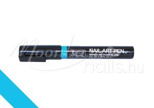 Nail art pen - Körömdíszítő toll 7ml #11 Világos kék