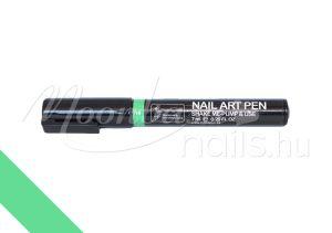 Nail art pen - Körömdíszítő toll 7ml #14 Világoszöld