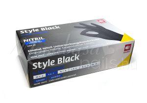 Style Black Nitril kesztyű 100db XS méret