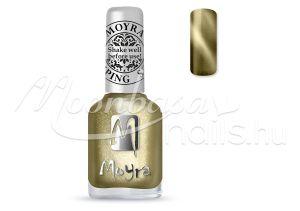 Cat Eye Magnetic Gold Nyomdalakk - Moyra 12ml SP 031