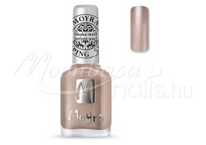 Rose Gold Nyomdalakk - Moyra 12ml SP 34