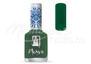 Dark Green Nyomdalakk - Moyra 12ml SP 14