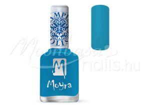 Turquoise Nyomdalakk - Moyra 12ml SP 22