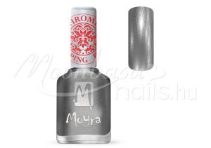 Chrome Silver Nyomdalakk - Moyra 12ml SP 25